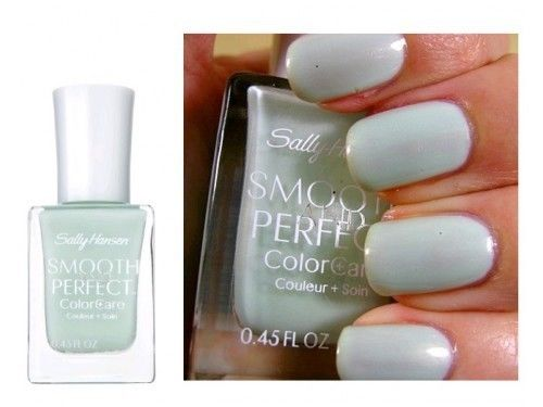 Sally Hansen  # 07 Sea Smooth And Perfect Colorcare, Nail Polish, Sally Hansen, reddonut.com