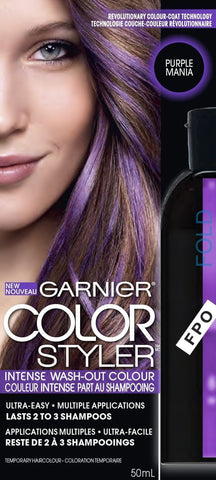 Garnier Color Styler Intense Wash-Out Color CHOOSE YOUR COLOR, Hair Color, Garnier, reddonut.com