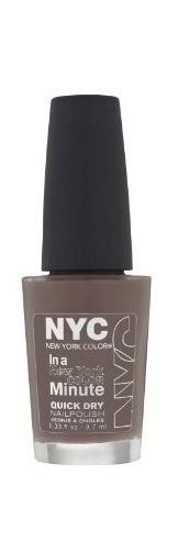 Nyc In A New York Color Minute Quick Dry Nail Polish, Park Ave, Nail Polish, NYC, reddonut.com