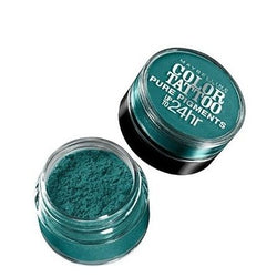 Lot Of 2 Maybelline Color Tattoo Pure Pigments Eye Shadow #5 Never Fade Jade, Eye Shadow, Maybelline, reddonut.com