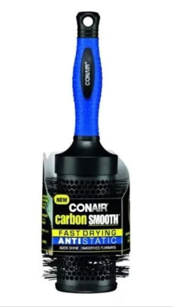 Conair Carbon Smooth Fast Drying Anti Static Brush, Brushes & Combs, Conair, reddonut.com
