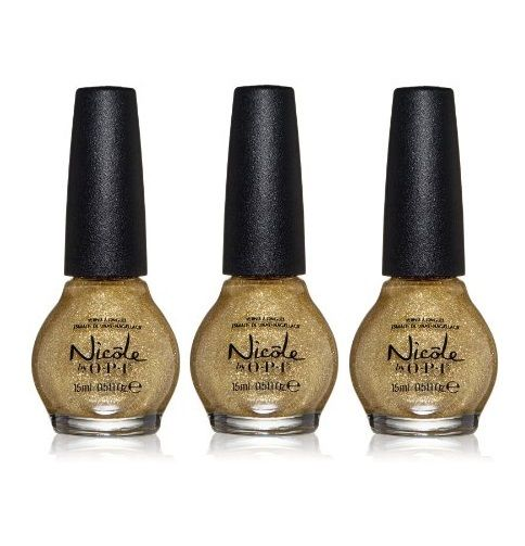 Lot of 3 - Nicole by Opi Nail Lacquer Polish Carrie'd Away - reddonut.com