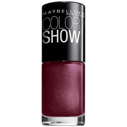 Maybelline Color Show Nail Lacquer Polish Wine & Dined 420 - reddonut.com