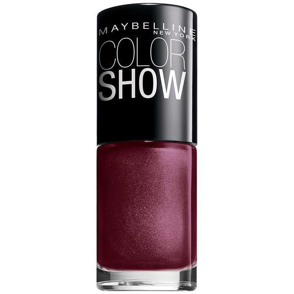 Maybelline Color Show Nail Lacquer Polish Wine & Dined 420__Maybelline