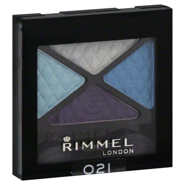 Rimmel London #021 State Of Grace Glam'Eyes Quad Eye Shadow Make Up__Rimmel