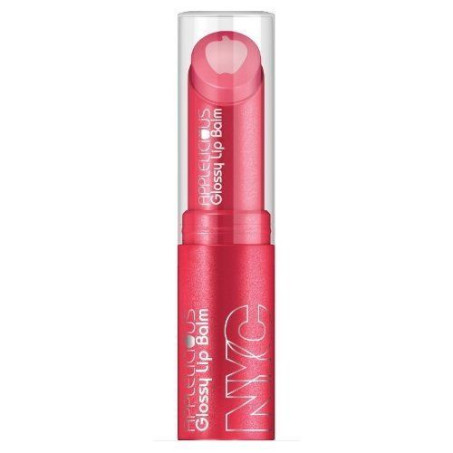 Nyc New York Color Applelicious Glossy Lip Balm 353 Pink Lady, Blush, NYC, reddonut.com