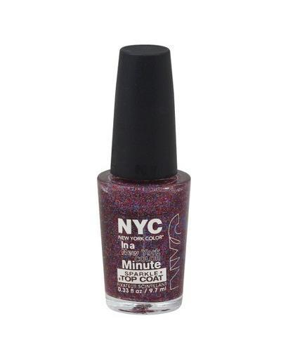 NYC Big City Dazzle #276 IN A MINUTE Quick-Dry NAIL POLISH