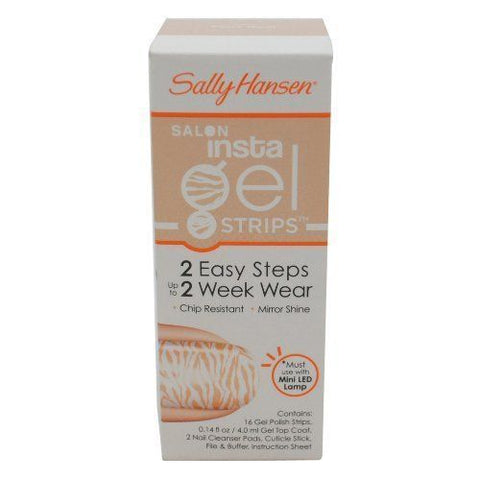 SALLY HANSEN -  #380 FAUX REAL - INSTA GEL STRIPS, Gel Nails, Sally Hansen, reddonut.com