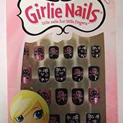 Girlie Nails Skulls & Hearts, #31403 Stick On Nails Nails For Halloween, Nail Art Accessories, Girlie Nails, reddonut