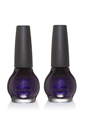 Lot Of 2 - Nicole By Opi Lacquer Nail Polish Plum To Your Senses! #ni 406 0.5 Oz, Nail Polish, OPI, reddonut.com