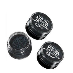 Lot of 3 - Maybelline Color Tattoo Eyestudio 24 Hour Eyeshadow#30 Black Mystery, Eye Shadow, Maybelline, reddonut.com