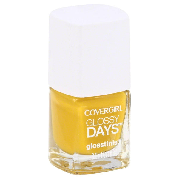 Covergirl Glossy Days Nail Polish, Glosstinis, Get Glowing 670, Nail Polish, CoverGirl, reddonut.com