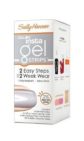 SALLY HANSEN INSTA GEL STRIPS #120 HI HO SILVER, Gel Nails, Sally Hansen, reddonut.com