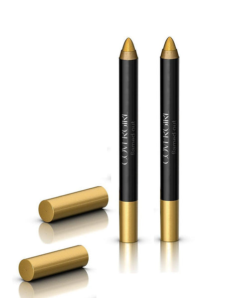 Lot Of 2 - CoverGirl Flamed Out Shadow Pencil, 330 Gold Flame, Eye Shadow, CoverGirl, reddonut.com