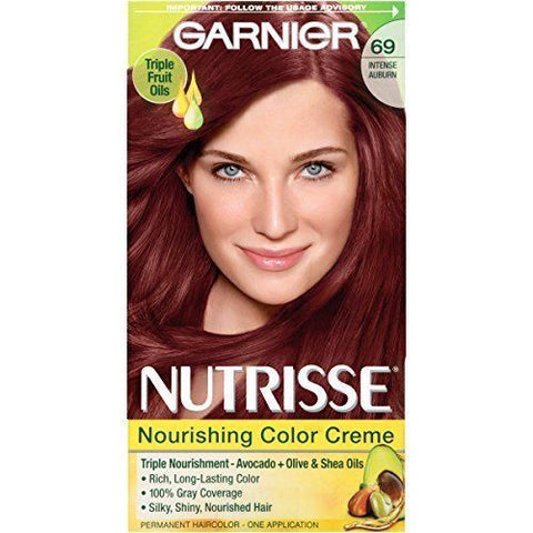 Garnier Nutrisse Ultra Color Nourishing Color Creme, CHOOSE YOUR COLOR, Hair Color, Garnier, reddonut