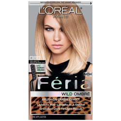 L'Oreal Paris Feria Intense Ombre Hair Color, Light To Medium Blonde O80, Hair Color, L'Oreal, reddonut.com