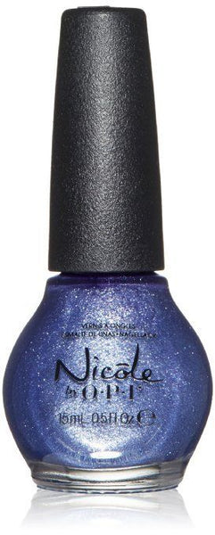 Niclole By Opi Glitter Nail Lacquer Polish Ni198 Blue Berry Sweet On You  5 Oz__Nicole