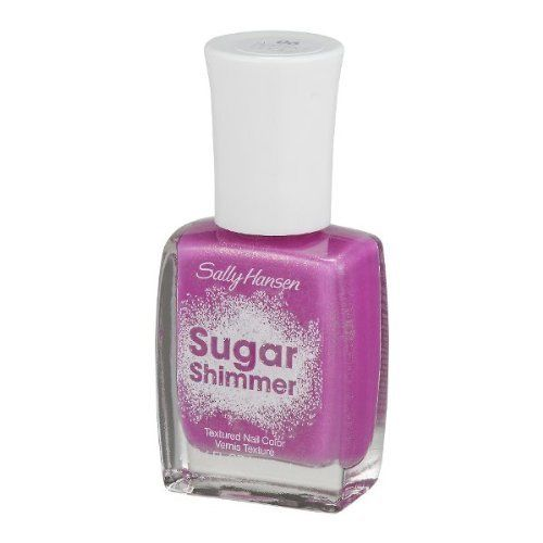 SALLY HANSEN  #06 BERRIED UNDER SUGAR SHIMMER TEXTURED NAIL POLISH, Nail Polish, CoverGirl, reddonut.com