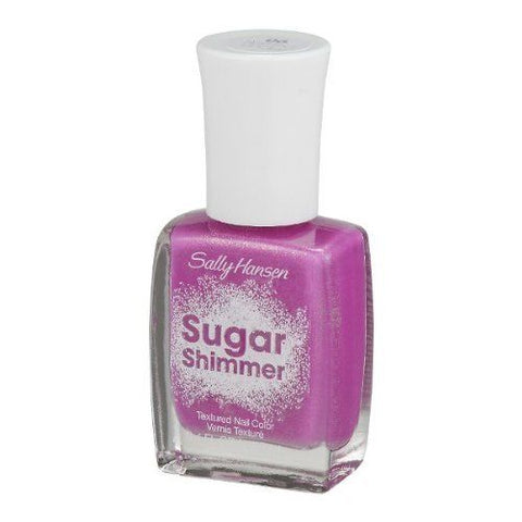 SALLY HANSEN  #06 BERRIED UNDER SUGAR SHIMMER TEXTURED NAIL POLISH
