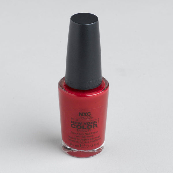 NEW YORK COLOR MADISON AVENUE .33 Oz COLOR MINUTE NAIL POLISH, Nail Polish, NYC, reddonut.com