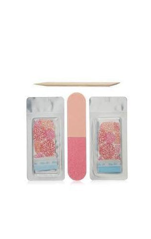 SALLY HANSEN 450 PRETTY N POPPY  INSTA GEL STRIPS, Nail Art Accessories, SALLY HANSEN, reddonut.com