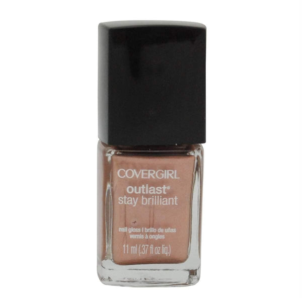 Covergirl Outlast Stay Brilliant Nail Gloss #225 Perfect Penny, Nail Polish, CoverGirl, reddonut