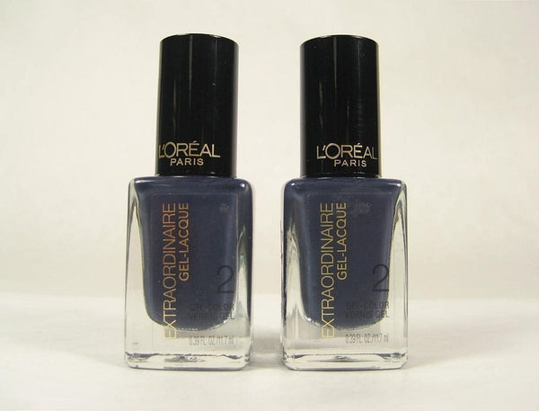 Pack of 2 L'Oreal Extraordinaire Gel Lacque, 718 Elegance is Innate, Nail Polish, L'Oréal, reddonut.com