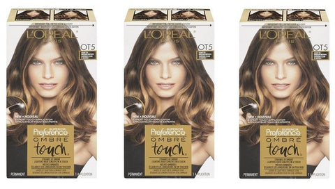 L'oreal Superior Preference Ombre Touch, Ot5 For Medium Brown Hair Choose Pack, Hair Color, L'Oreal, reddonut.com