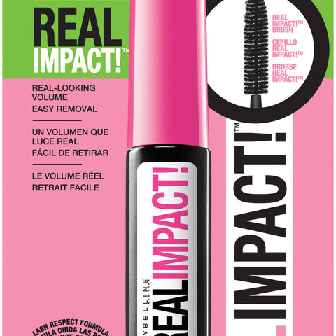 Maybelline Great Lash Real Impact Washable Mascara, Brownish Black B2g 15%, Mascara, Maybelline, reddonut.com