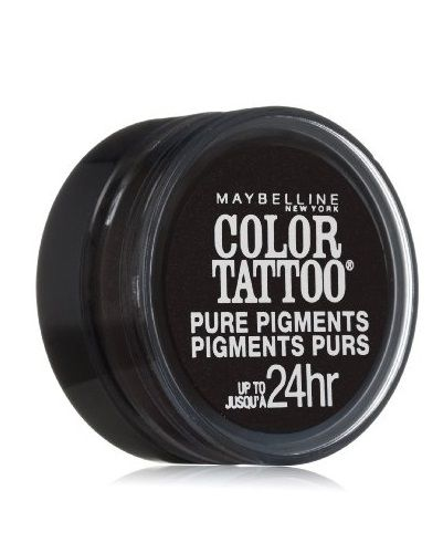 Maybelline Color Tattoo Eyestudio 24 Hour Eyeshadow Pure Pigm #30 Black Mystery, Eye Shadow, Maybelline, reddonut.com