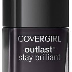 Covergirl Outlast Stay Brilliant Nail Gloss 325 Black Diamond__CoverGirl