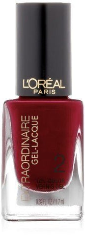 L'Oreal - 708 Beauty Never Fades - Extraordinaire Gel-Lacque, Gel Nails, L'Oréal, reddonut