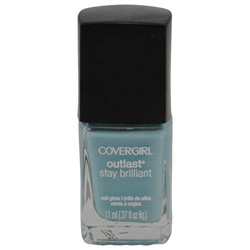 Covergirl Outlast Stay Brilliant Nail Polish, 147 Skylight Choose Your Pack, Nail Polish, CoverGirl, reddonut.com