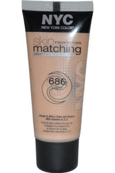 NYC Skin Matching Foundation Adapting Technology CHOOSE UR SHADE, Foundation, NYC, reddonut.com