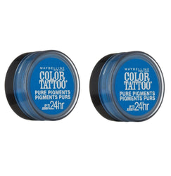 Maybelline Color Tattoo Eye Shadow, 10 Brash Blue Choose Your Pack, Eye Shadow, Maybelline, reddonut.com