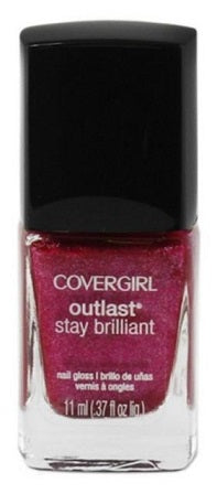 Covergirl Outlast Stay Brilliant Nail Polish, 313 Bombshell Pink Choose Ur Pack, Nail Polish, reddonut, reddonut