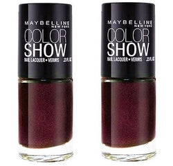 Maybelline Colorshow Nail Polish, 420 Wined & Dined Choose Your Pack - reddonut.com