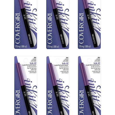 Covergirl Ink It! All Day Eye Pencil, 265 Violet Choose Your Pack, Eyeliner, CoverGirl, reddonut.com