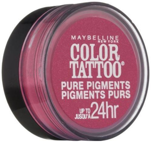 Maybelline Color Tattoo Eye Shadow, 20 Pink Rebel Choose Your Pack, Eye Shadow, Maybelline, reddonut.com