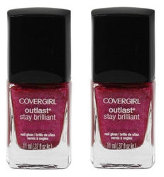 Covergirl Outlast Stay Brilliant Nail Polish, 313 Bombshell Pink Choose Ur Pack - reddonut.com