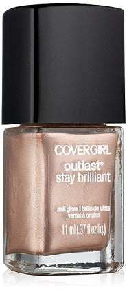 Covergirl Outlast Stay Brilliant Nail Polish, 225 Perfect Penny Choose Your Pack, Nail Polish, reddonut, reddonut.com