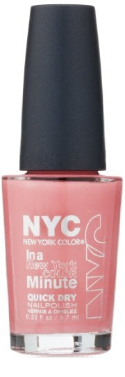 Nyc New York Color Quick Dry Nail Polish,258 Prospect Park Pink, Choose Ur Pack - reddonut.com