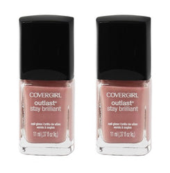 Covergirl Outlast Stay Brilliant Nail Polish, 150 Megawatt Mauve Choose Ur Pack, Nail Polish, reddonut, reddonut.com