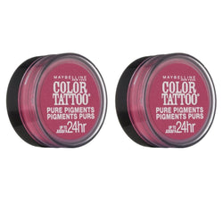 Maybelline Color Tattoo Eye Shadow, 20 Pink Rebel Choose Your Pack - reddonut.com