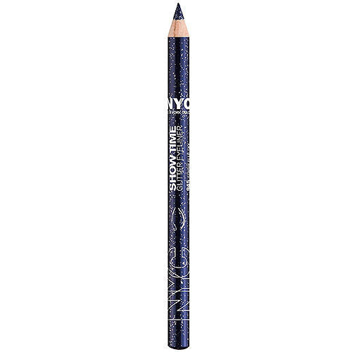NYC Show Time Glitter Pencil, 945 Starry Blue Sky CHOOSE YOUR PACK, Eyeliner, NYC, reddonut.com