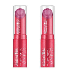Nyc Applelicious Glossy Moisturizing Lipbalm 357 Apple Blueberry Pie Choose Pack, Lip Gloss, reddonut, reddonut.com