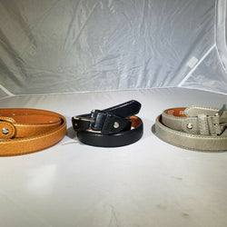 CHILDRENS LEATHER SKINNY BELTS KIDS SCHOOL CASUAL BELT, , reddonut.com, reddonut.com