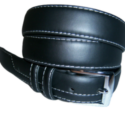 Italy Style Brand Men's Genuine Leather Black/Brown Belt Size S / M / L / XL NEW, , reddonut.com, reddonut.com