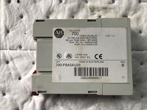 Allen Bradley 700-FSA3AU23 Timer On-Delay Series B FSA3