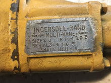 Load image into Gallery viewer, Ingersoll-Rand Multi-Vane Drill Size 30 RPM 185